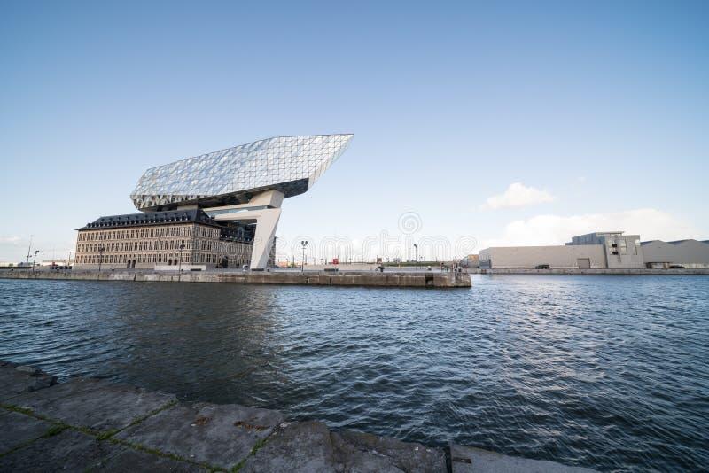Nowy portu dom zdjęcie royalty free