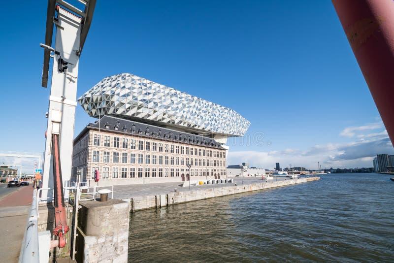 Nowy portu dom obrazy royalty free