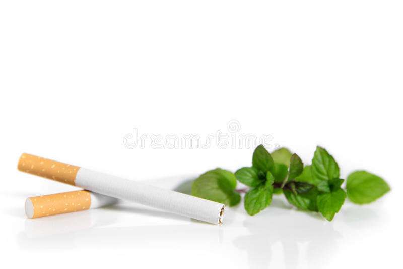 Nowy prawo w Niemcy, mentoli papierosy zakazuje obraz stock