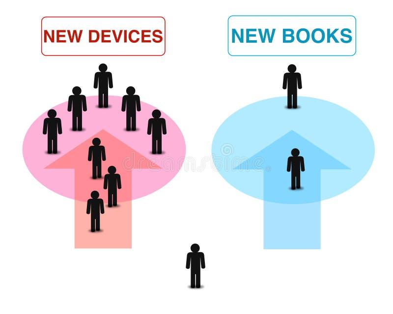 Nowy przyrządów lub nowych książek tła elementów wzór, super ilości abstrakcjonistyczny biznesowy plakat zdjęcia stock