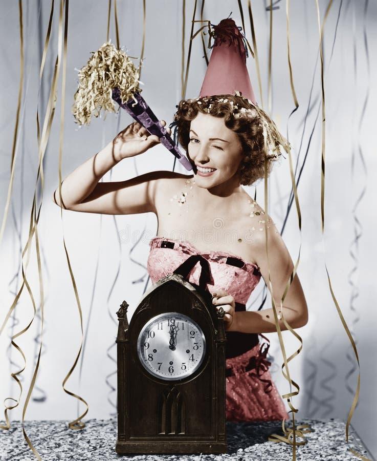 Nowy Rok świętowanie (Wszystkie persons przedstawiający no są długiego utrzymania i żadny nieruchomość istnieje Dostawca gwarancj obrazy stock