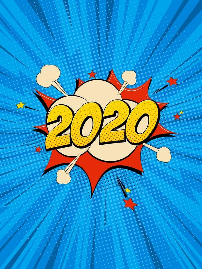 Nowy Rok 2020 4 ilustracji