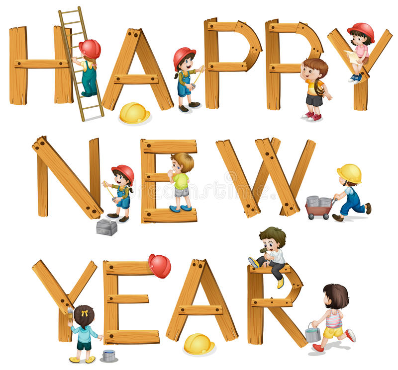 nowy rok, ilustracja wektor