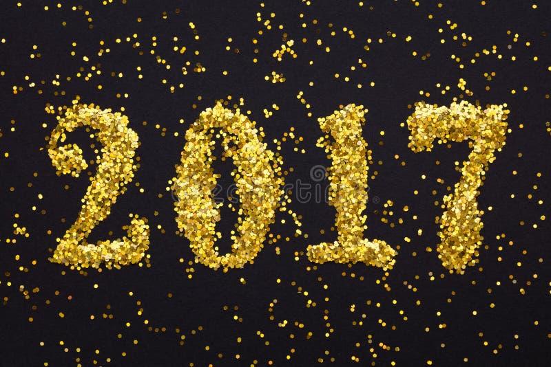 Nowy rok 2017 obrazy stock