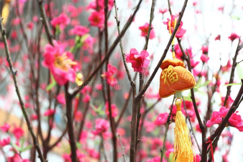 Nowy rok chińska dekoracja obraz stock