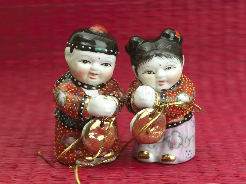 Nowy rok chińska kukła zdjęcie stock