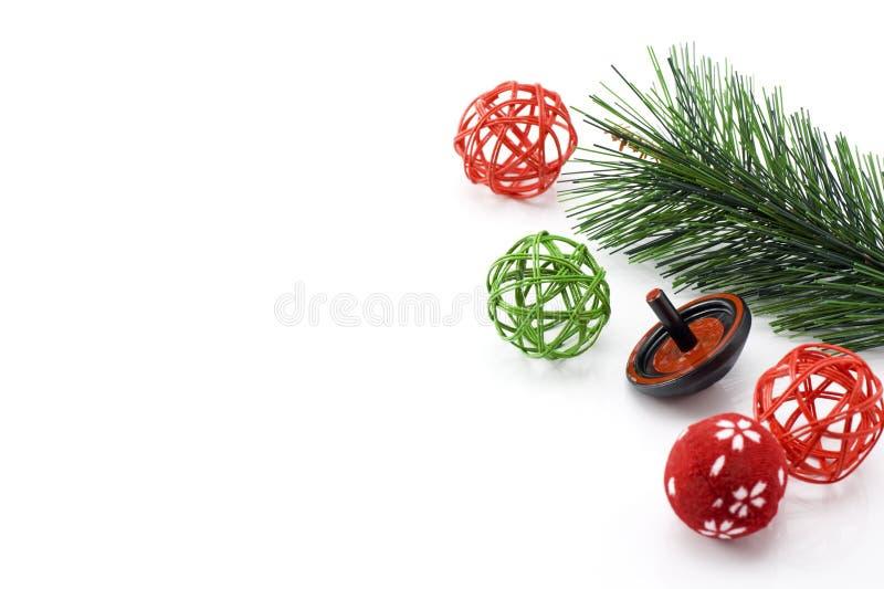 Nowy Rok dekoracja fotografia royalty free