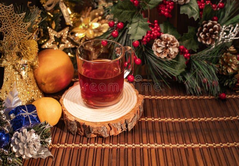 Nowy Rok i boże narodzenie wystrój zdjęcie stock