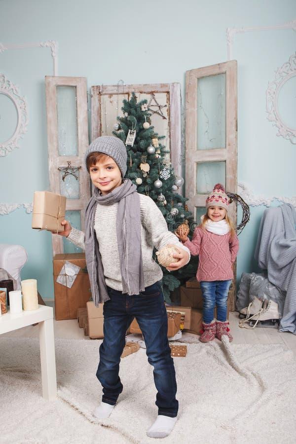 Nowy rok i children zdjęcia stock