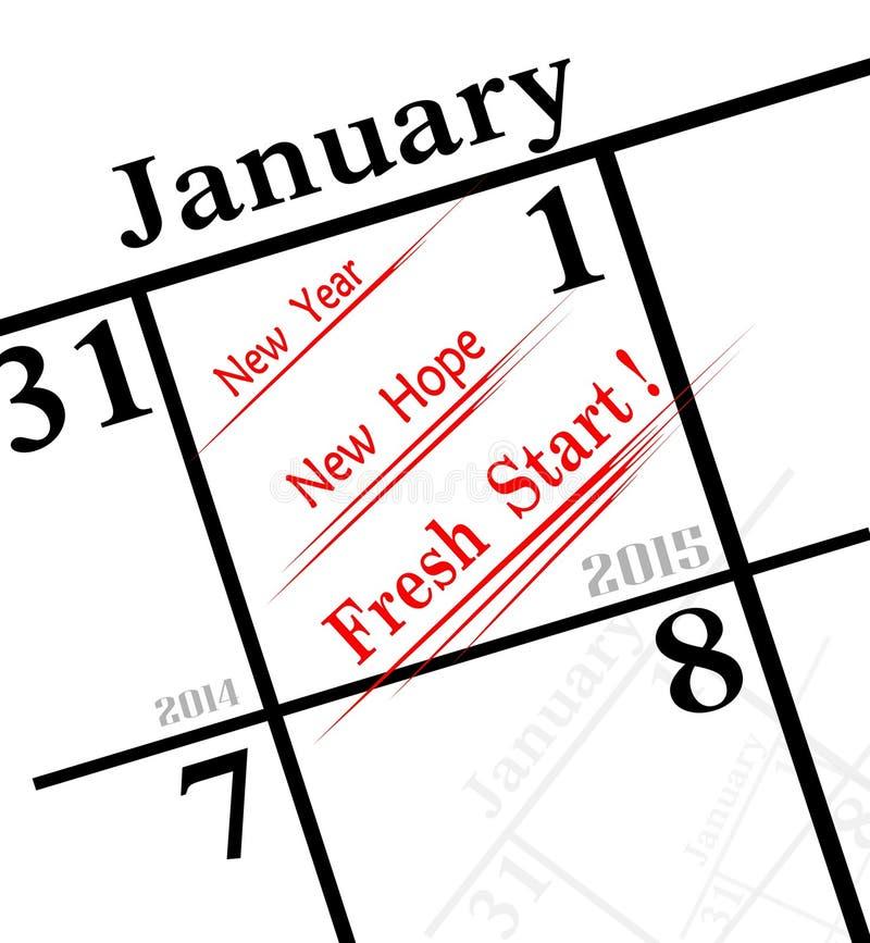 2015 nowy rok ikona ilustracja wektor