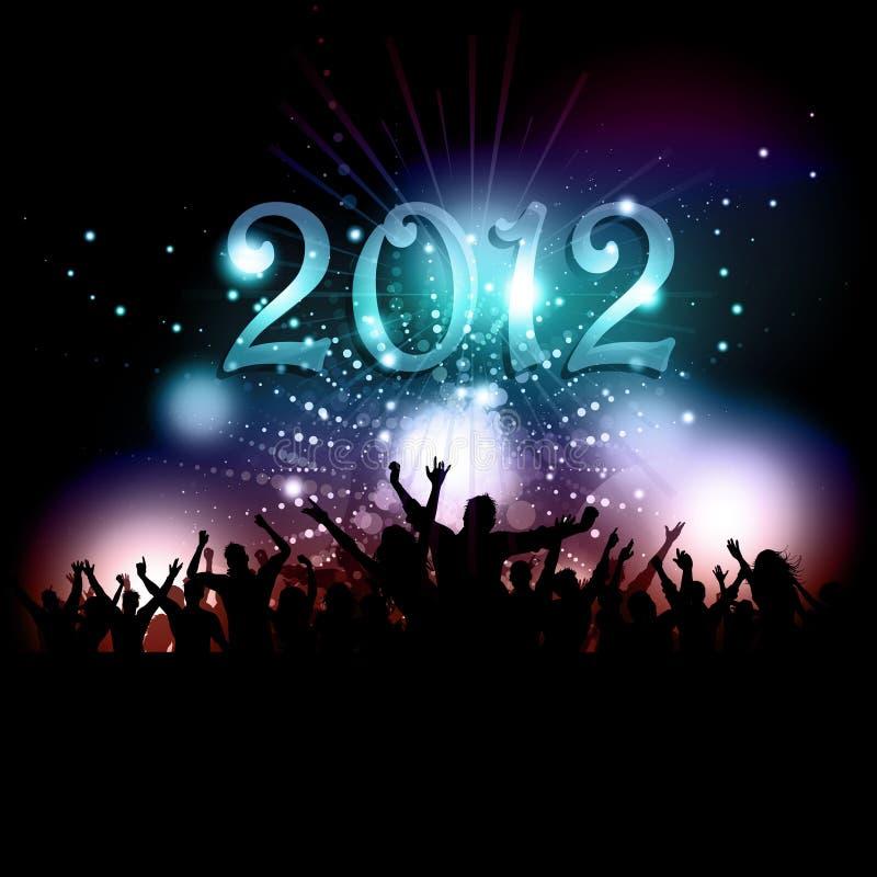 Nowy rok przyjęcie tłumów
