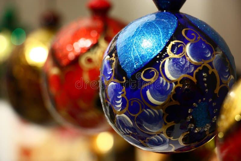 Nowy Rok sfery zdjęcie stock