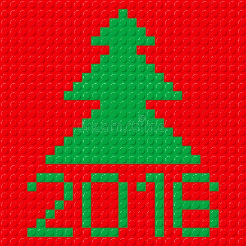 Nowy Rok symbole ilustracja wektor