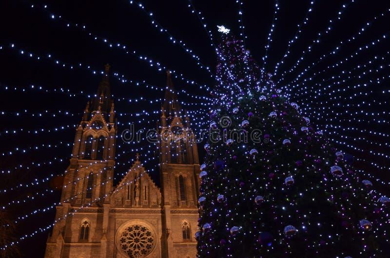 Nowy rok wigilii dekoracja obrazy royalty free