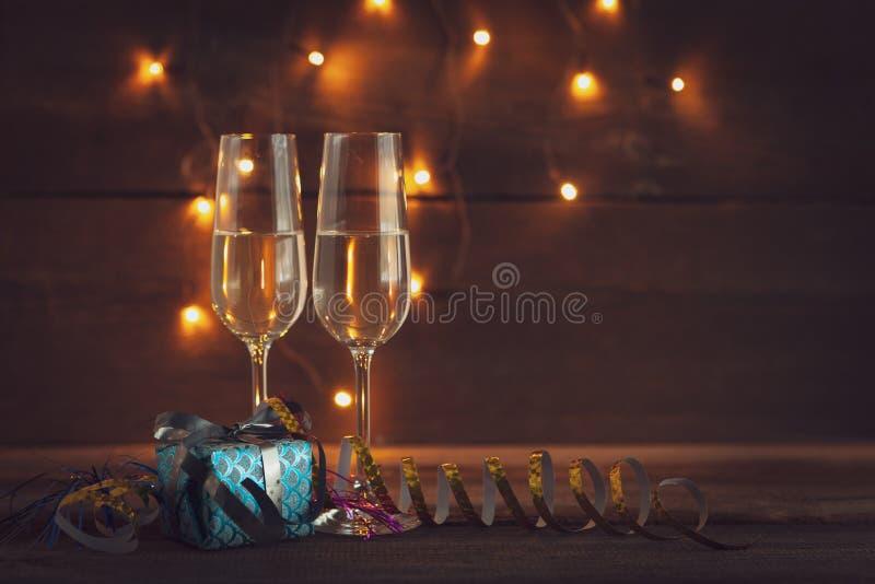 Nowy Rok wigilii tła zdjęcia royalty free