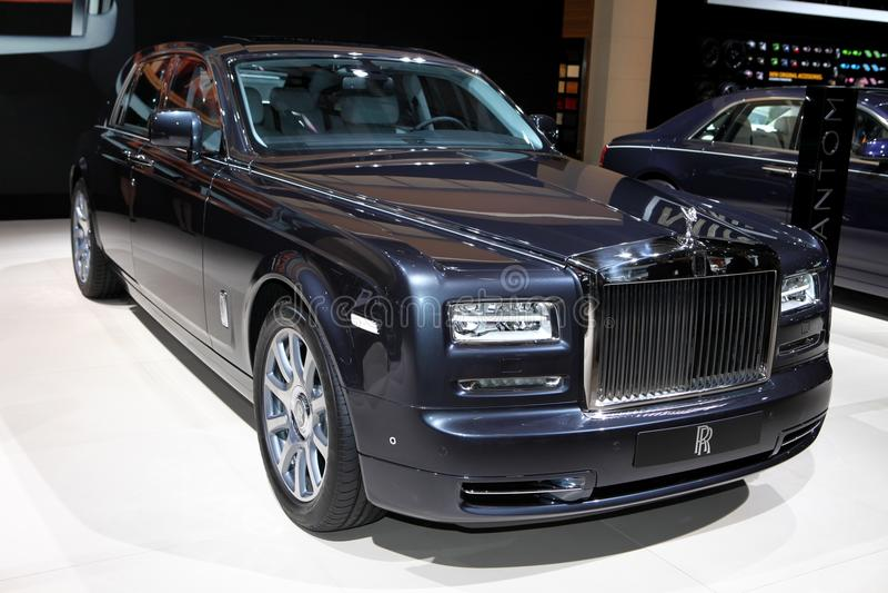 Nowy Rolls-Royce Phantom zdjęcie royalty free