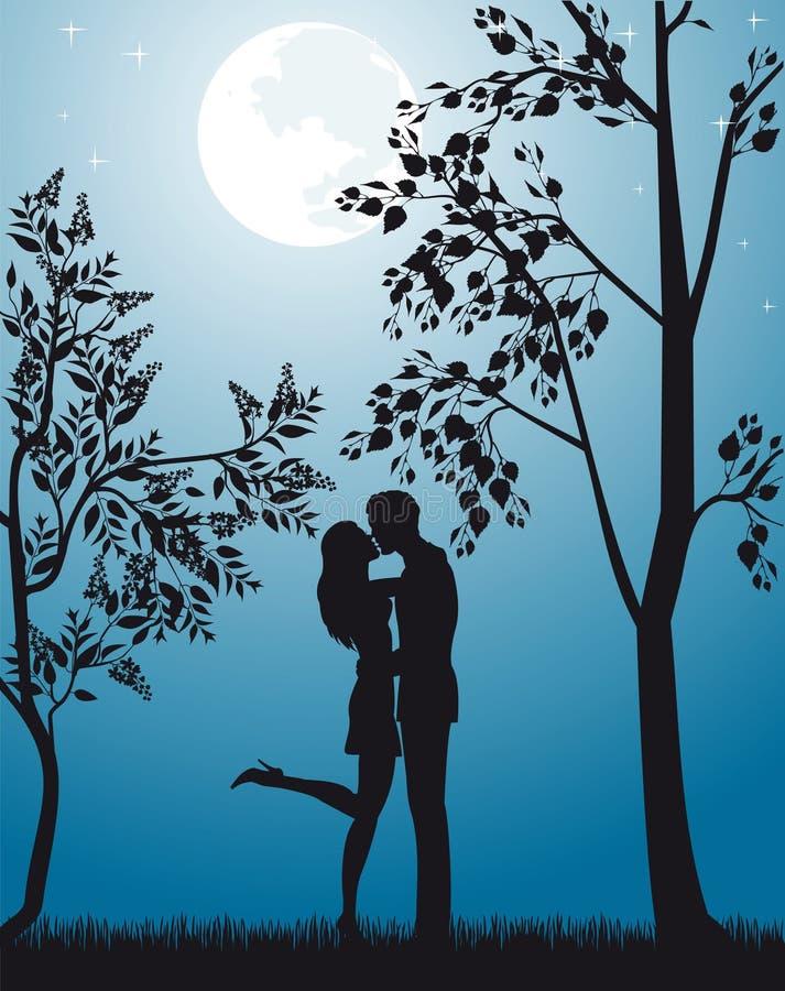 nowy romantyczny royalty ilustracja