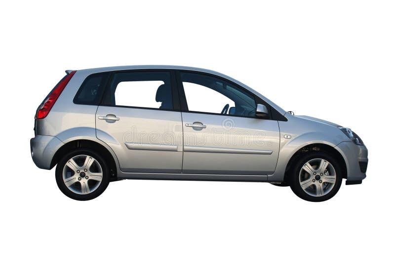 nowy samochód srebra obraz stock
