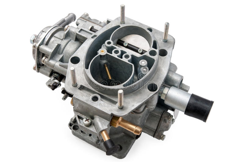 Nowy samochodowy karburator zdjęcie royalty free