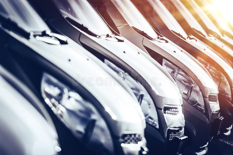 Nowy samochodu przemysłu pojęcie zdjęcie stock