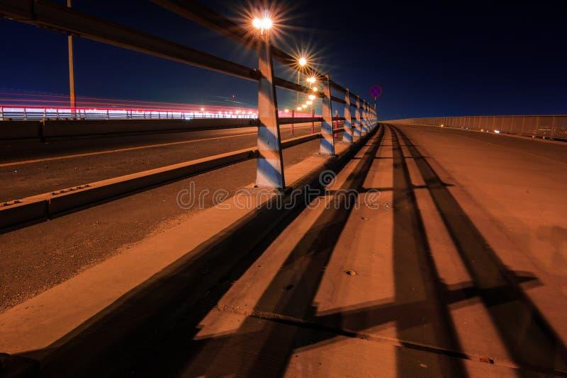 Nowy Sitra most, Bahrajn zdjęcia royalty free