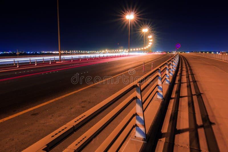 Nowy Sitra most, Bahrajn obrazy stock