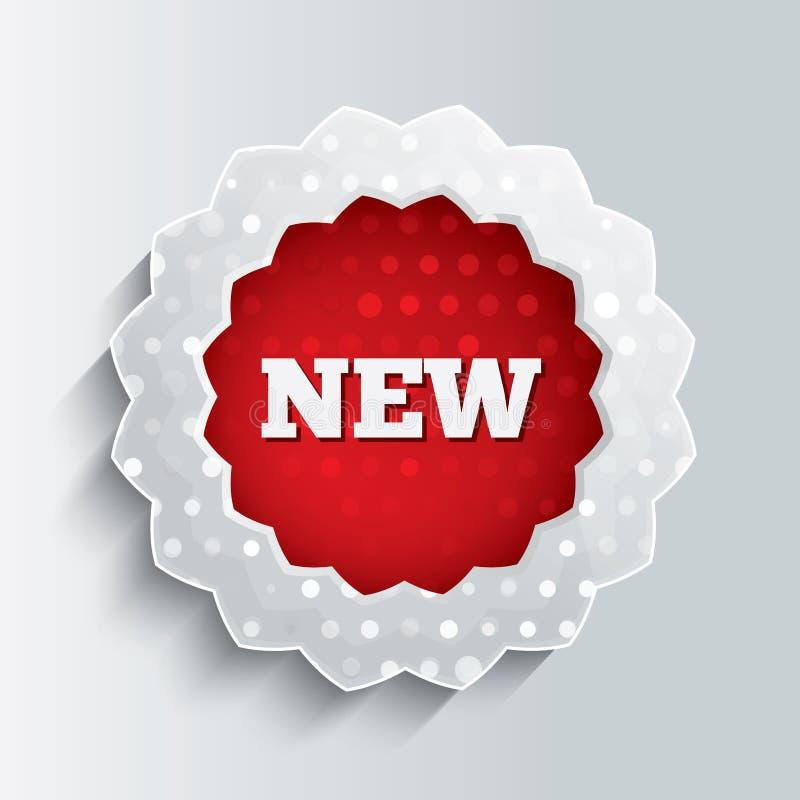 Nowy szkło gwiazdy guzik. Specjalnej oferty ikona. royalty ilustracja