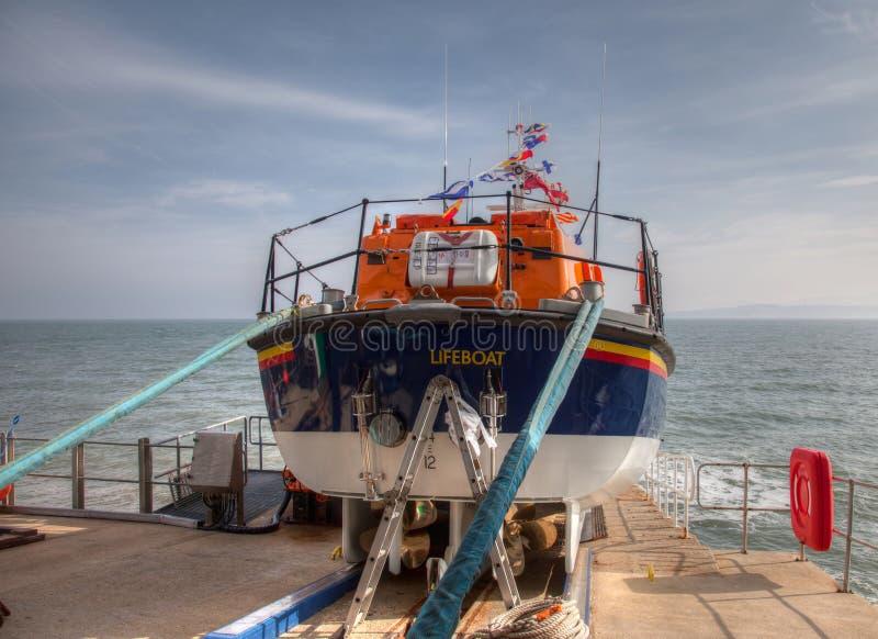 Nowy Lifeboat fotografia royalty free