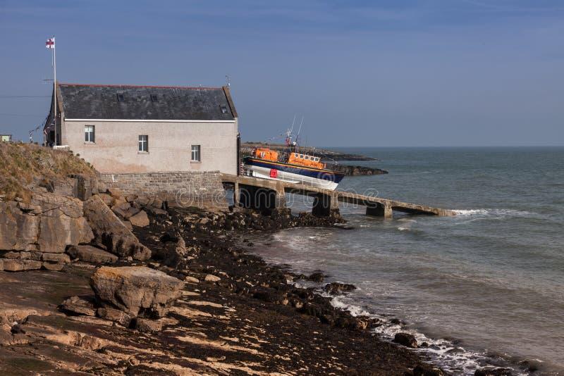 Nowy Lifeboat obraz stock