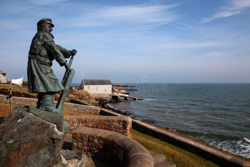 Nowy Lifeboat zdjęcie royalty free