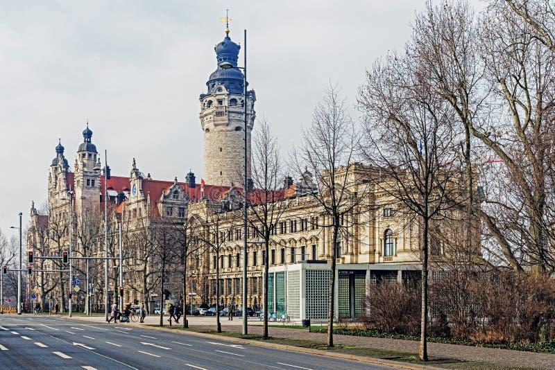 Nowy urząd miasta obraz stock