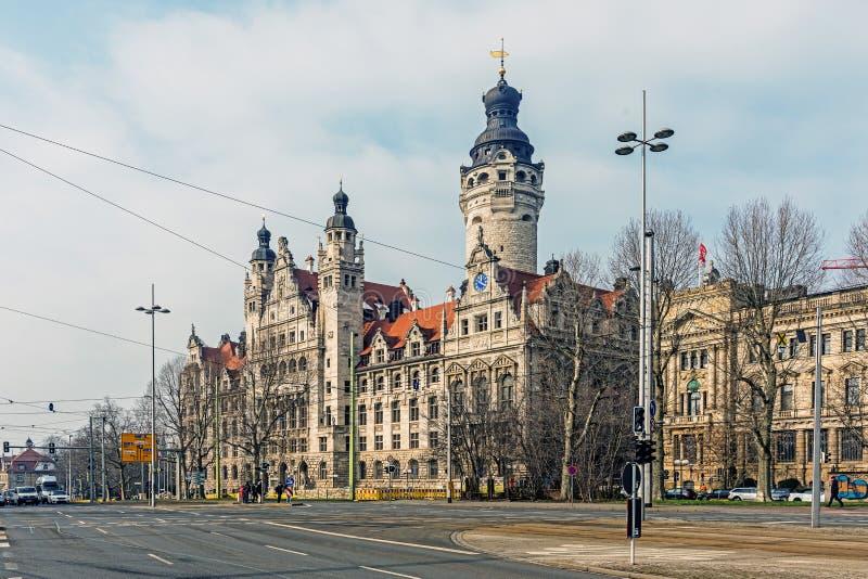 Nowy urząd miasta zdjęcie stock