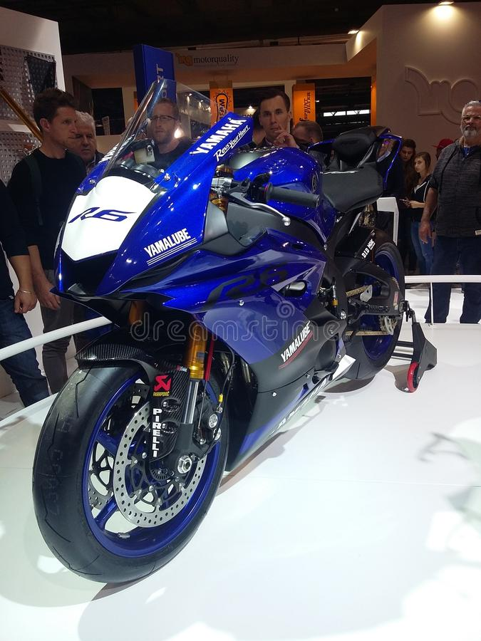 Nowy Yamaha R6 zdjęcie royalty free
