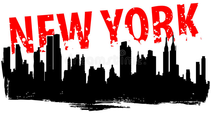 nowy York royalty ilustracja