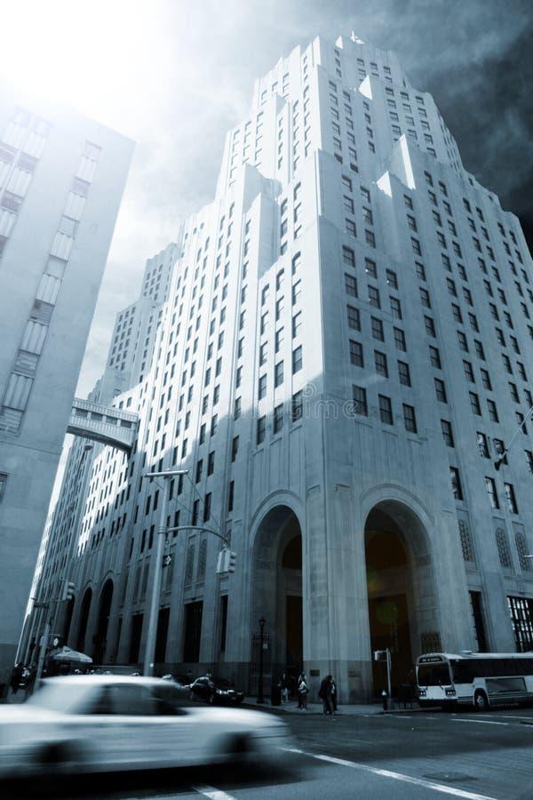 nowy York drapacz chmur zdjęcie stock