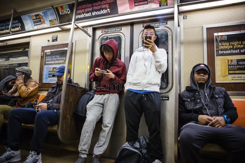 nowy York metro city obraz royalty free