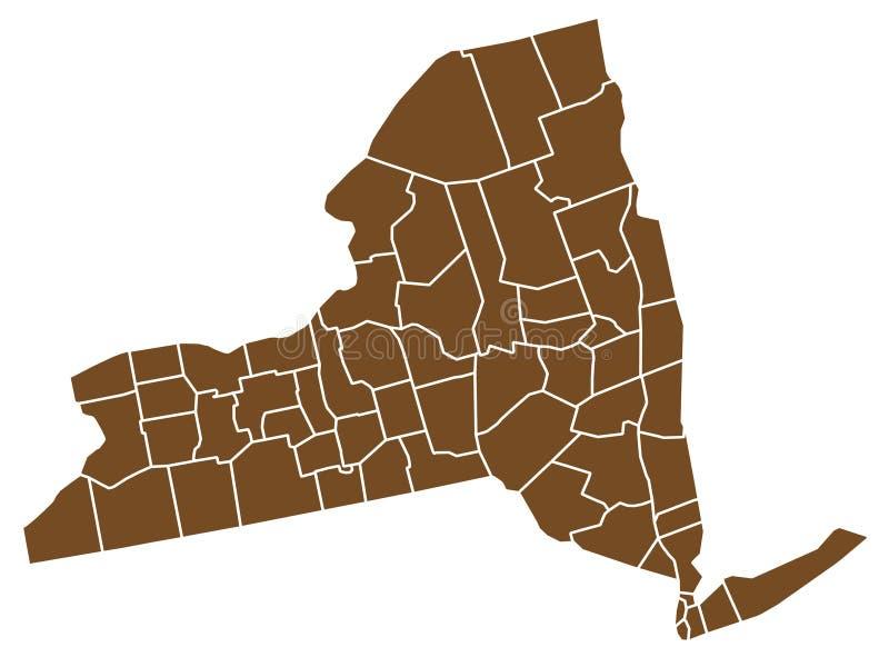 nowy York państwa royalty ilustracja