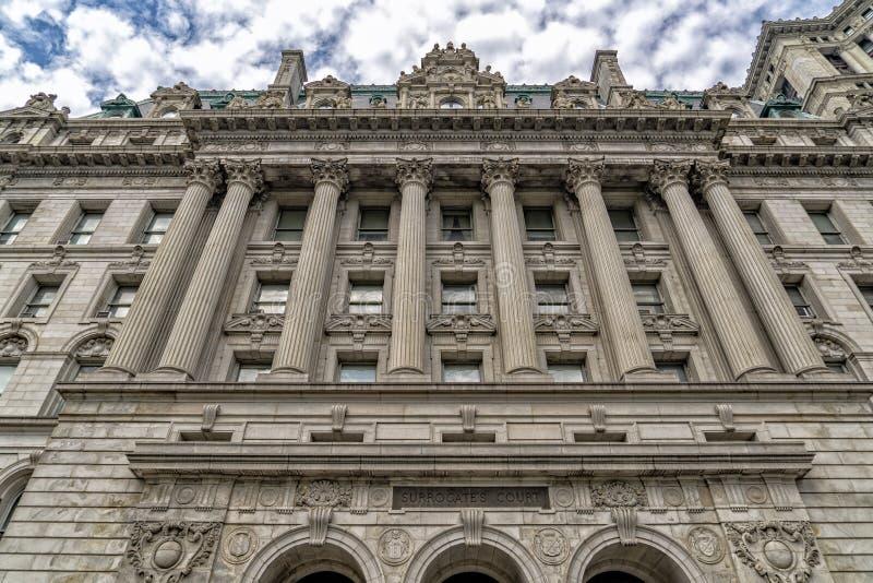 Nowy York substytutu sądu budynek obrazy royalty free