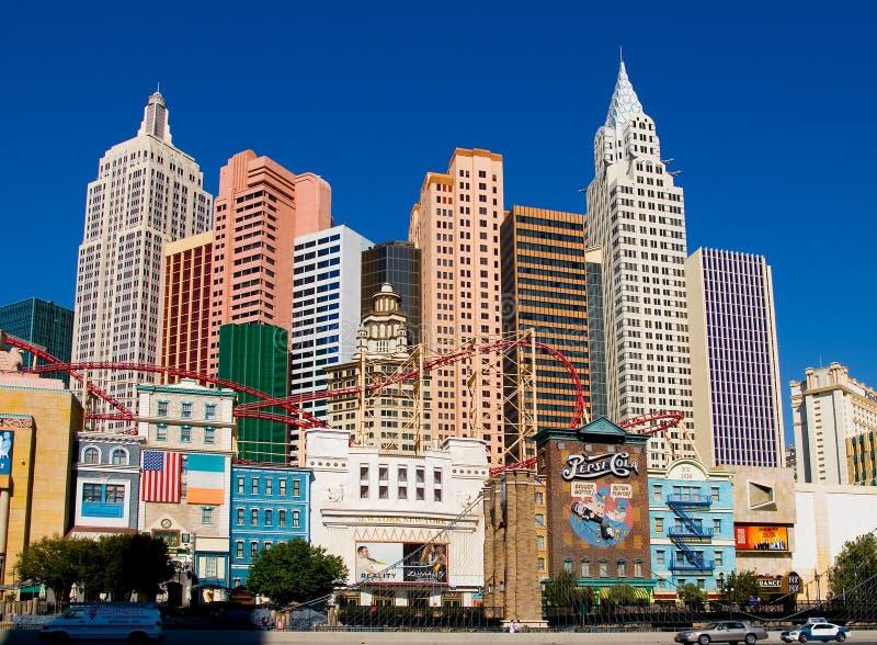 nowy York Vegas lasów, obraz stock