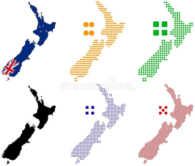 nowy Zealand royalty ilustracja