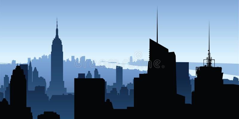nowym Jorku budynku ilustracji