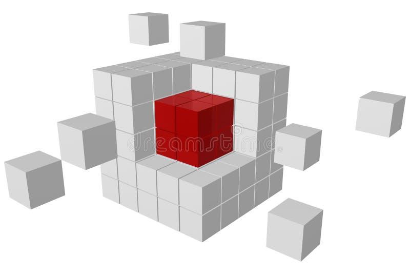 Noyau illustration de vecteur