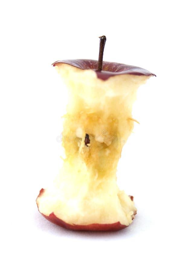 Noyau d'Apple image libre de droits