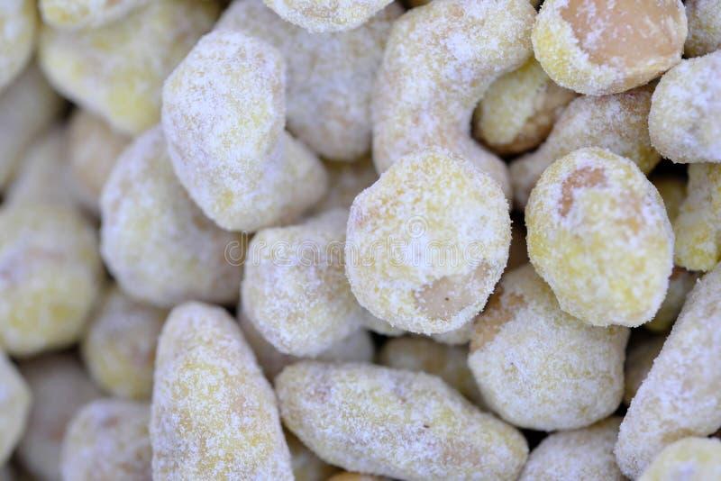 Noyaux rôtis d'écrous photos stock