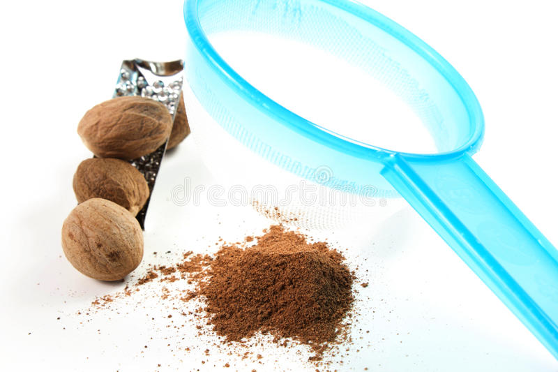 Download Noz-moscada foto de stock. Imagem de aromatic, ingrediente - 26517308