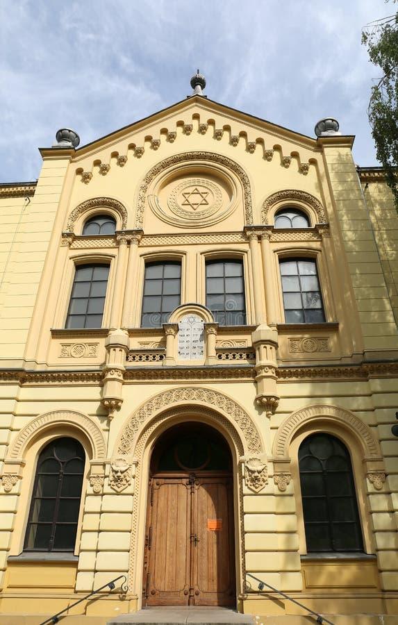 Nozyk synagoga otwierał wewnątrz 1902 i wciąż w użyciu obraz royalty free
