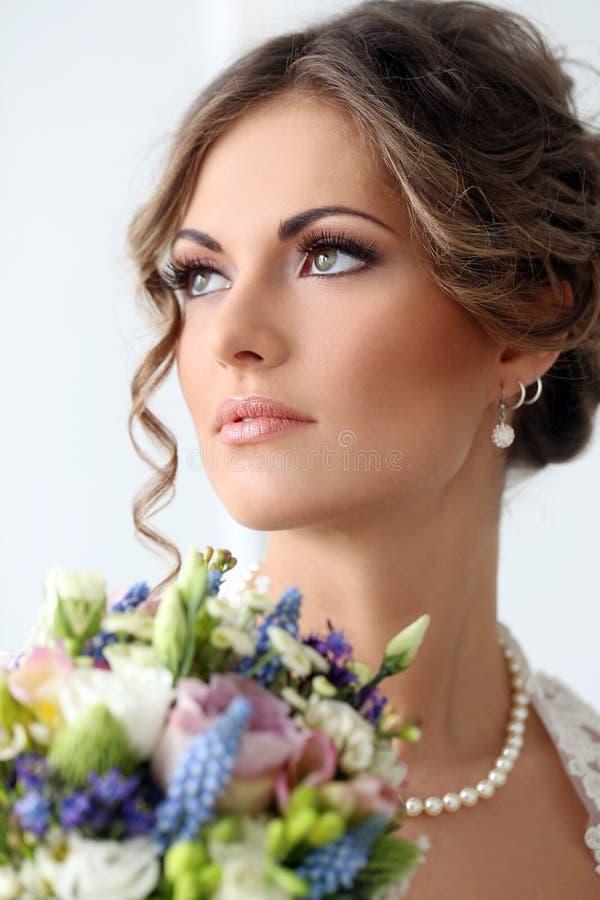 nozze Bella sposa fotografia stock libera da diritti