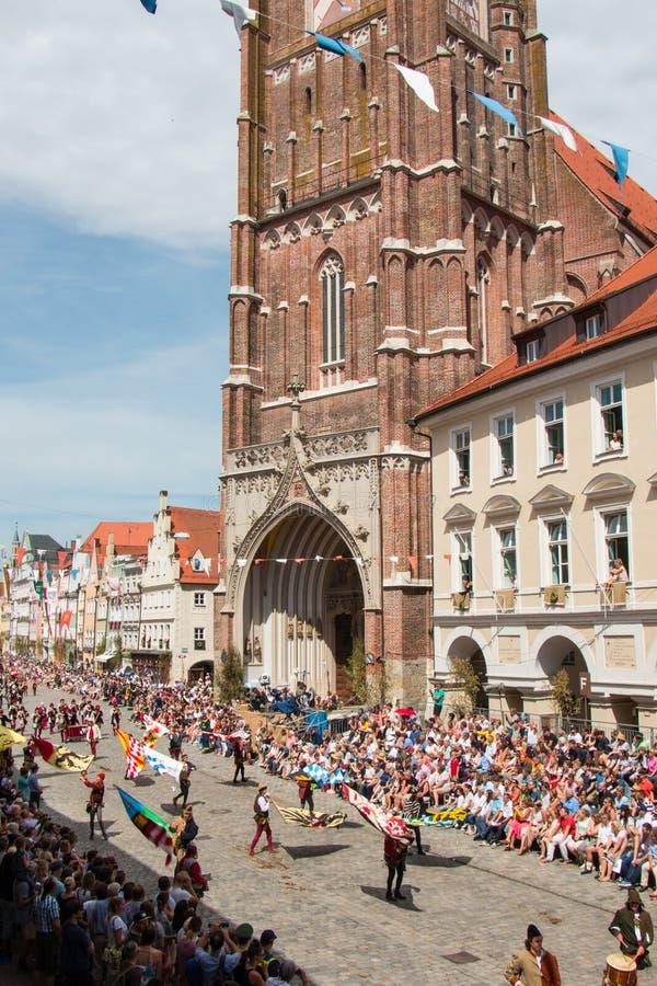 Nozze di Landshut fotografia stock