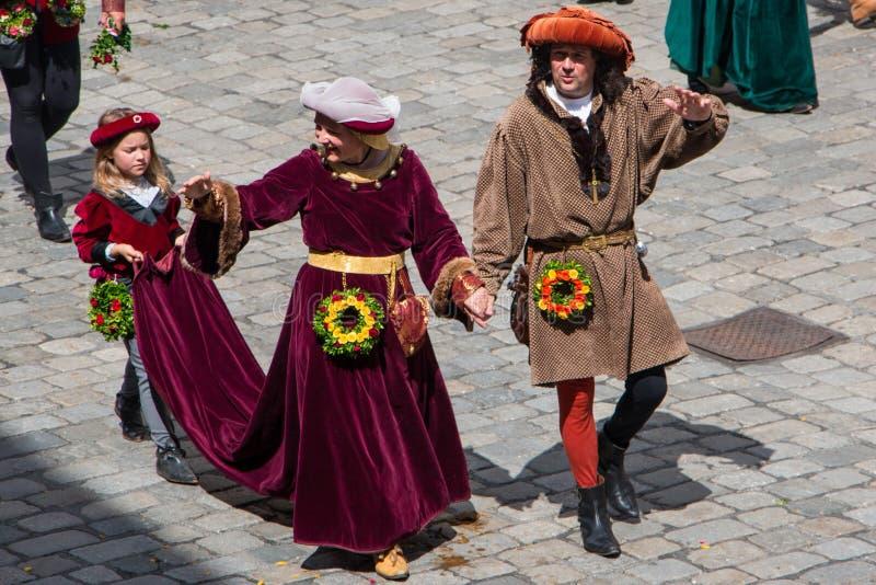 Nozze di Landshut immagine stock libera da diritti