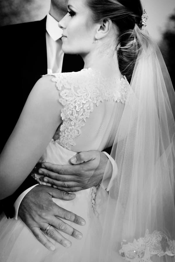 nozze Sposa e sposo fotografie stock libere da diritti
